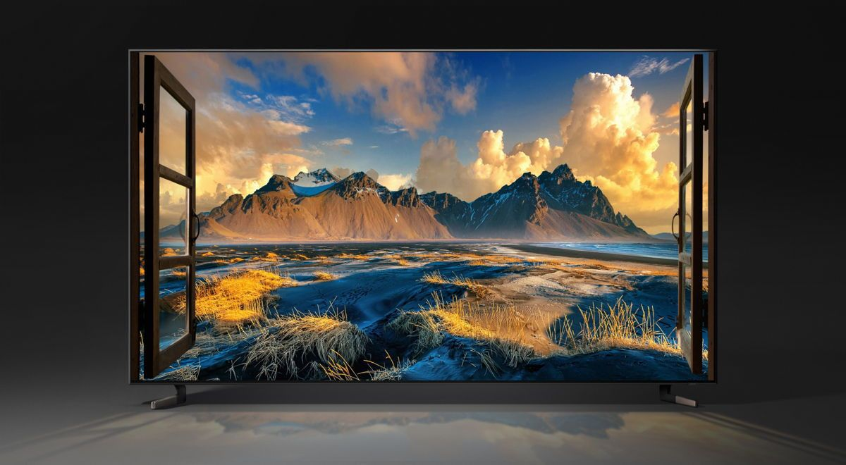 Samsung 8K OLED screen