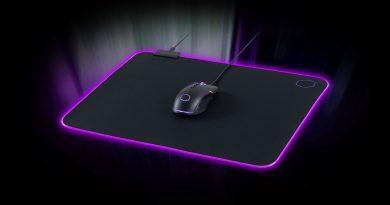 RGB-s puha egérpaddal bővít a Cooler Master