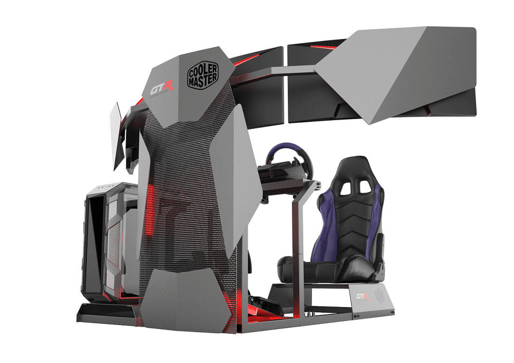 GTA F Cooler Master Edition Racing Rig