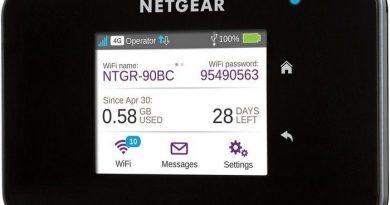 Netgear AirCard 810s 4G LTE mobil hotspot leírás