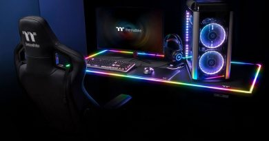 Thermaltake Level 20 RGB BattleStation Gaming Asztal
