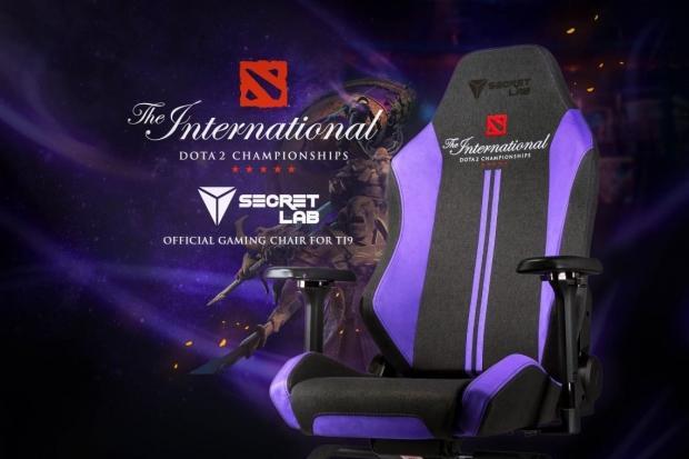 A Secretlab lett a Dota 2 The International 2019 szék partnere